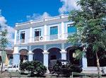 Hostal Del Rijo, fachada.