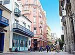 Façade of Ambos Mundos Hotel
