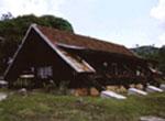 Pinares de Mayarí, cabaña.